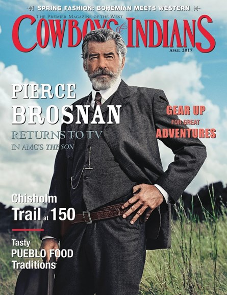Cowboys & Indians Cover - 4/1/2017