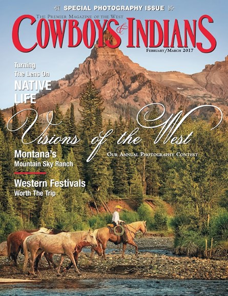 Cowboys & Indians Cover - 2/1/2017