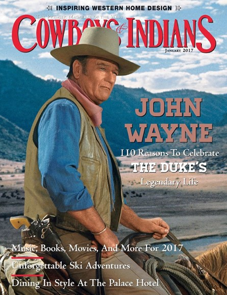 Cowboys & Indians Cover - 1/1/2017