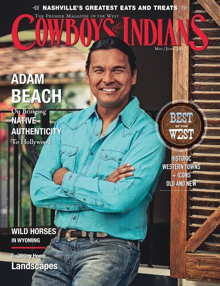 Cowboys & Indians Cover - 5/1/2017