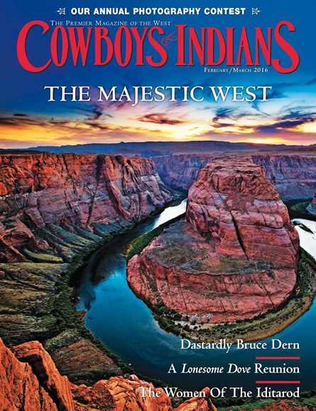 Cowboys & Indians Cover - 2/1/2016