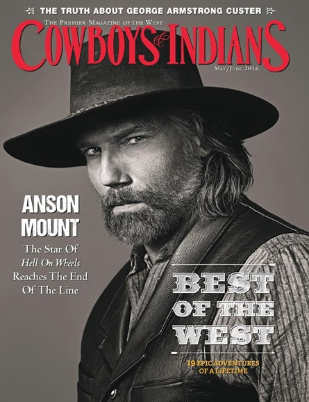 Cowboys & Indians Cover - 5/1/2016