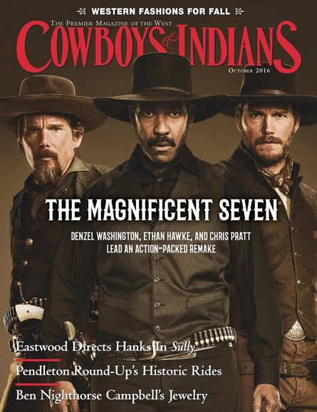 Cowboys & Indians Cover - 10/1/2016