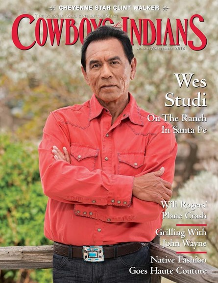 Cowboys & Indians Cover - 8/1/2015
