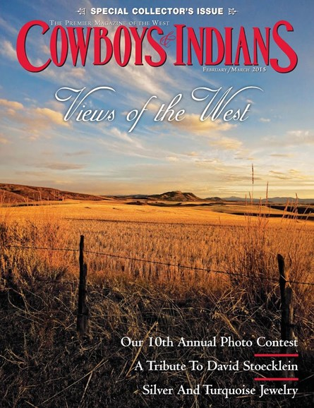 Cowboys & Indians Cover - 2/1/2015