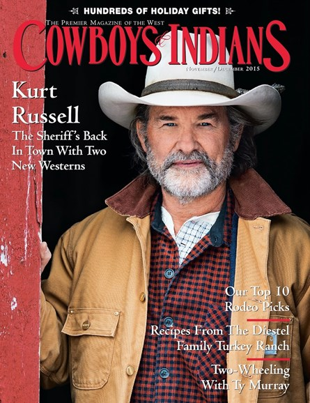 Cowboys & Indians Cover - 11/1/2015