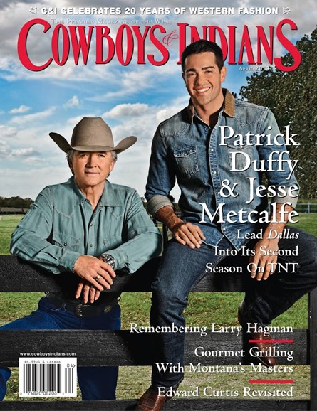 Cowboys & Indians Cover - 4/1/2013