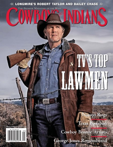 Cowboys & Indians Cover - 8/1/2013
