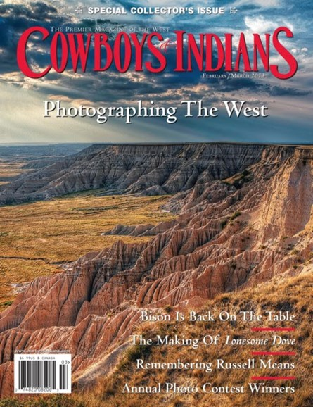 Cowboys & Indians Cover - 2/1/2013