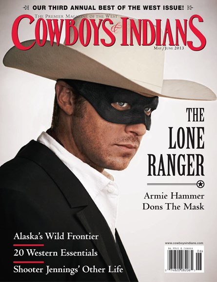 Cowboys & Indians Cover - 5/1/2013