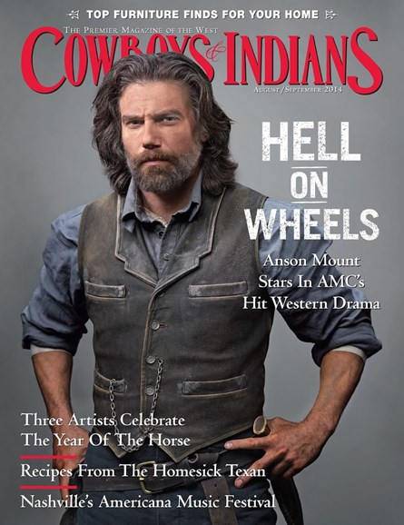 Cowboys & Indians Cover - 8/1/2014