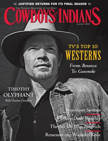 Cowboys & Indians Cover - 1/1/2015