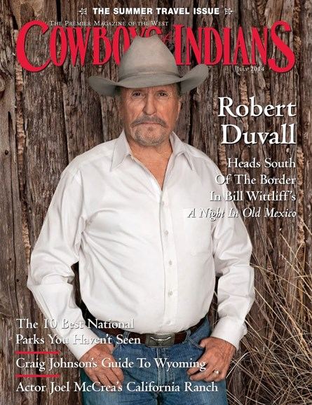 Cowboys & Indians Cover - 7/1/2014