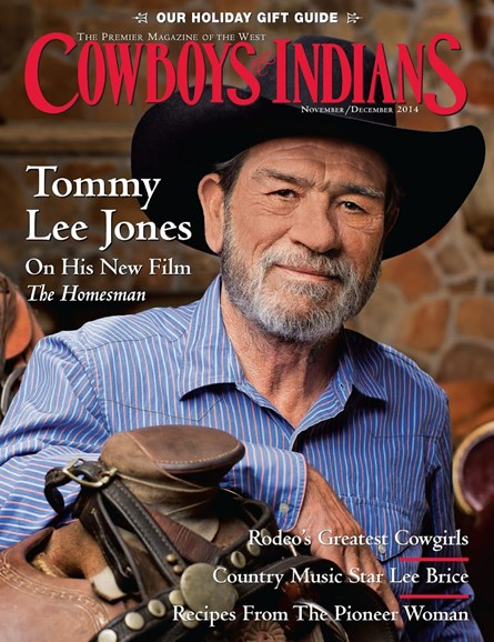 Cowboys & Indians Cover - 11/1/2014