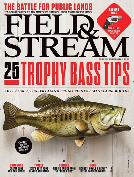 Field & Stream Cover - 5/1/2017