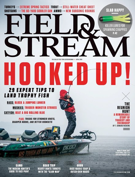 Field & Stream Cover - 4/1/2016