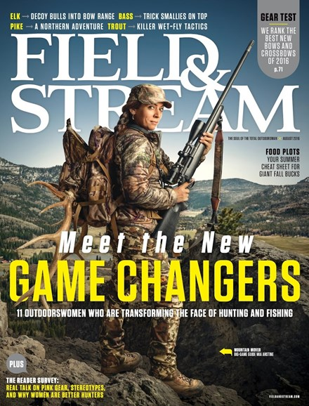 Field & Stream Cover - 8/1/2016