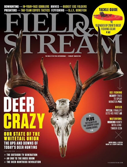 Field & Stream Cover - 2/1/2016