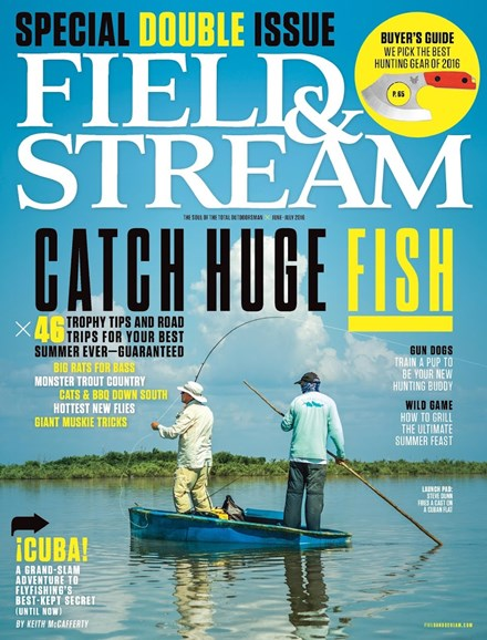 Field & Stream Cover - 6/1/2016