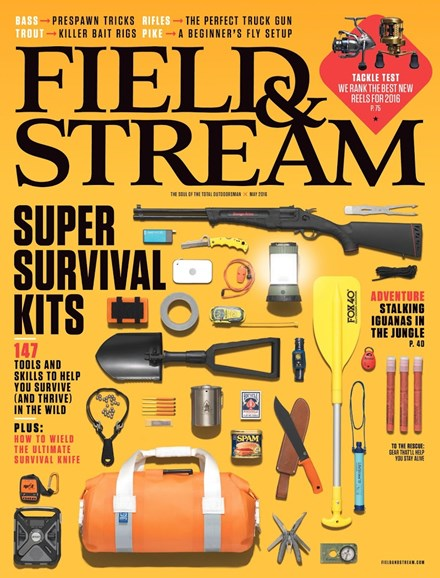 Field & Stream Cover - 5/1/2016