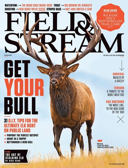 Field & Stream Cover - 10/1/2016
