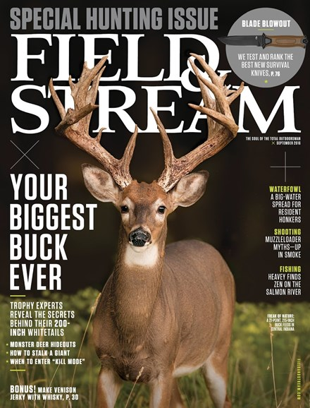 Field & Stream Cover - 9/1/2016