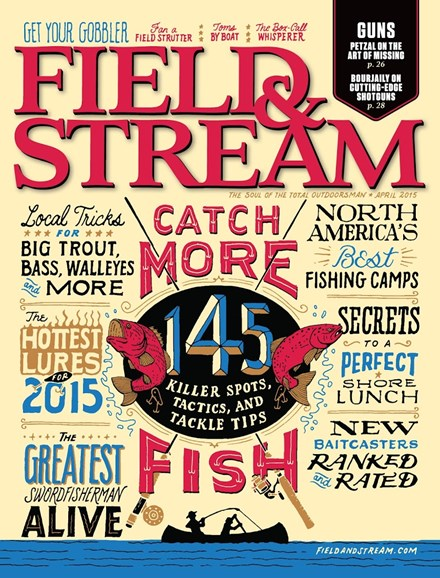 Field & Stream Cover - 4/1/2015