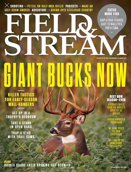 Field & Stream Cover - 8/1/2015