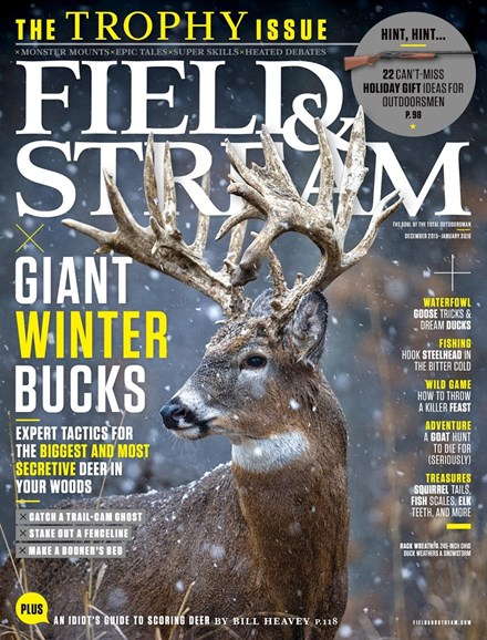 Field & Stream Cover - 12/1/2015