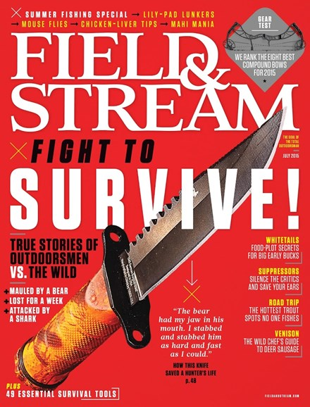 Field & Stream Cover - 7/1/2015