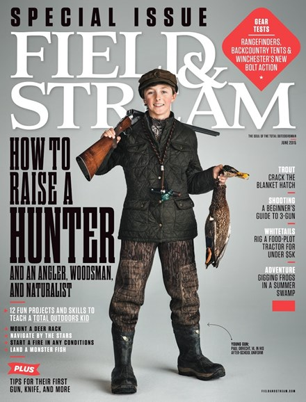 Field & Stream Cover - 6/1/2015