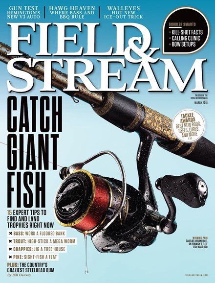 Field & Stream Cover - 3/1/2015