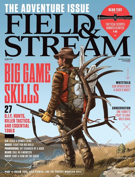 Field & Stream Cover - 10/1/2015