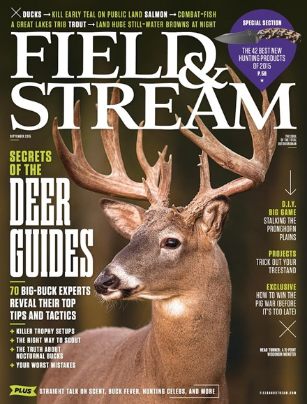 Field & Stream Cover - 9/1/2015