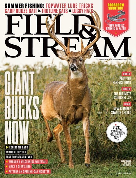 Field & Stream Cover - 8/1/2014
