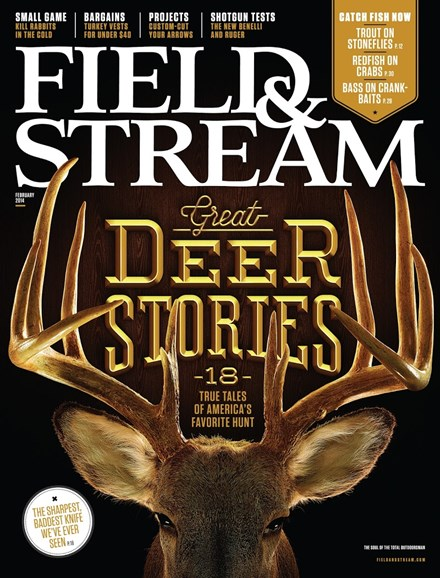 Field & Stream Cover - 2/1/2014
