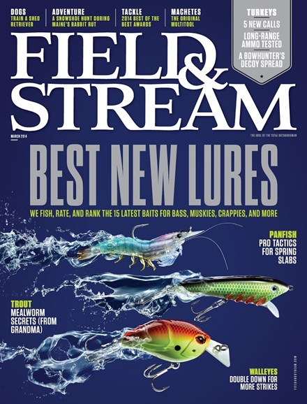 Field & Stream Cover - 3/1/2014