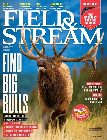 Field & Stream Cover - 10/1/2014