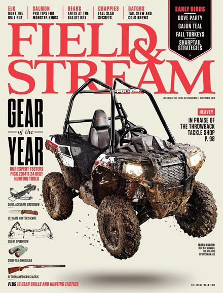 Field & Stream Cover - 9/1/2014