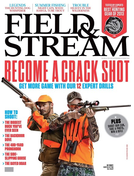 Field & Stream Cover - 8/1/2013