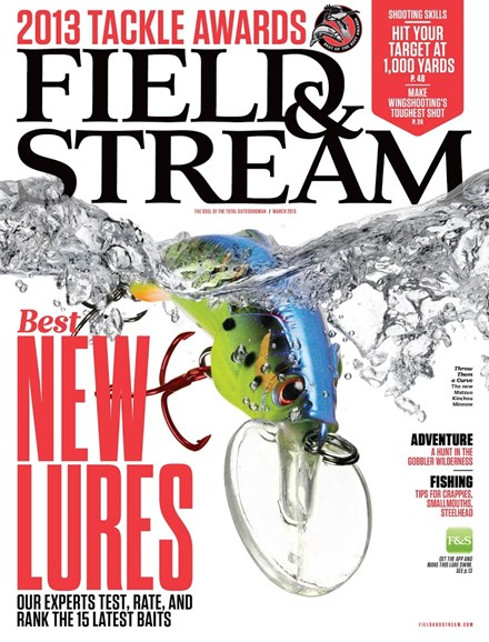 Field & Stream Cover - 3/1/2013