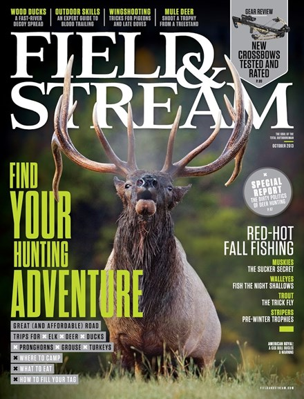Field & Stream Cover - 10/1/2013