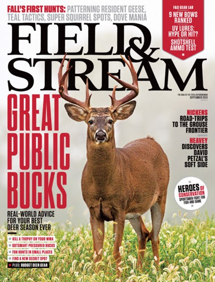 Field & Stream Cover - 9/1/2013