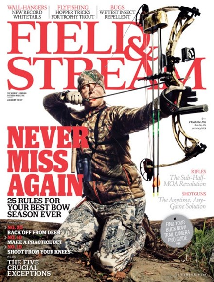 Field & Stream Cover - 8/1/2012