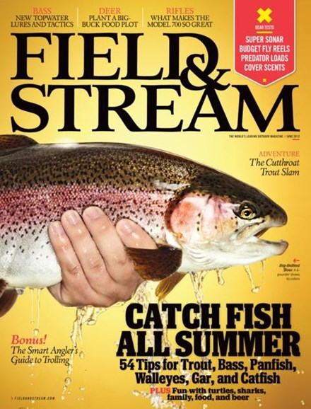 Field & Stream Cover - 6/1/2012