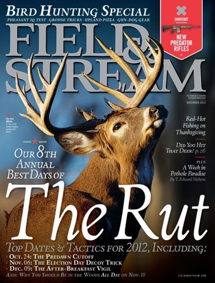 Field & Stream Cover - 11/1/2012