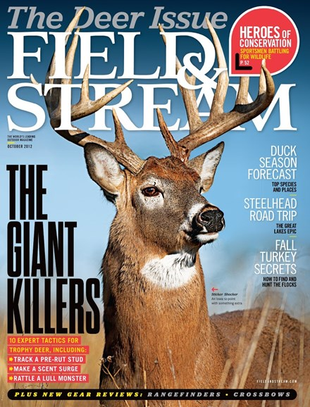 Field & Stream Cover - 10/1/2012
