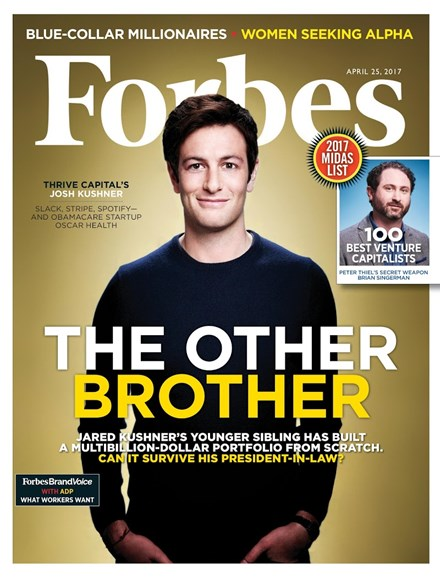 Forbes Cover - 4/25/2017