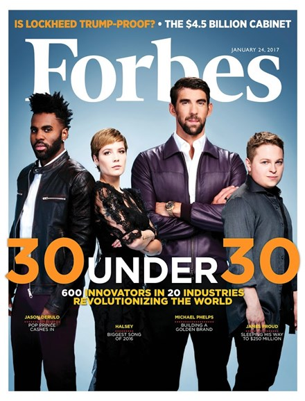 Forbes Cover - 1/24/2017