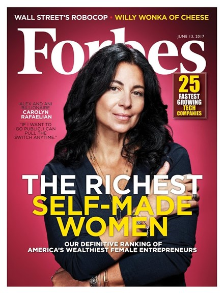 Forbes Cover - 6/13/2017